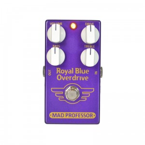 Mad Professor Royal Blue Overdrive Factory Made
