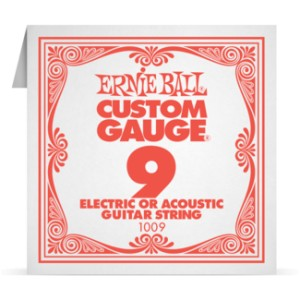 Struna .009 nieowijana Ernie Ball Electric/Acoustic (1009)