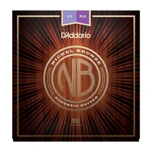 Struny D'Addario Nickel Bronze 11-52