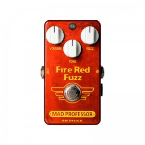 Mad Professor Fire Red Fuzz Factory Made