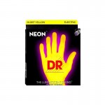 Struny DR Neon™ Hi-Def Yellow Electric K3 Coating 10-46 (NYE-10)