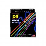 Struny DR Neon™ Hi-Def Multi Color Electric K3 Coating 10-46 (MCE-10)
