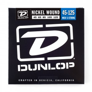 Struny Dunlop Nickel Plated Bass 5 45-125 DBN45125