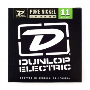 Struny Dunlop Electric Medium/Heavy Pure Nickel 11-50