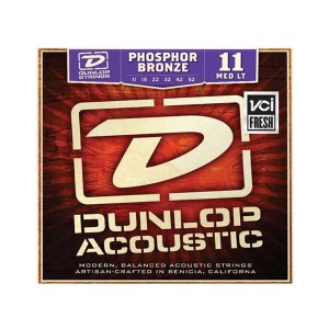 Struny Dunlop Acoustic  Light Phosphor Bronze 11-52