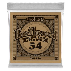 Struna .054 owijana Ernie Ball Earthwood Phosphor Bronze Acoustic (1854)