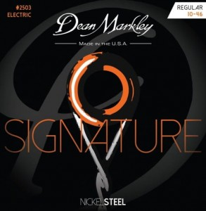 Struny Dean Markley Nickel Steel Electric Signature Regular 10-46 (DM2503)
