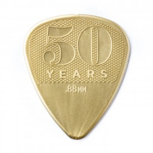 Kostka gitarowa Dunlop 50th Anniversary Gold Nylon .88mm
