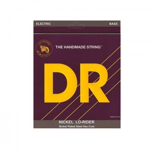 Struny DR Lo-Rider™ Nickel Plated 5-strings 45-130 (NMH5-130)