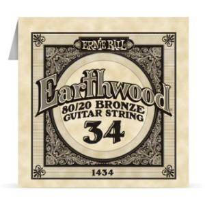 Struna .034 owijana Ernie Ball Earthwood 80/20 Bronze Acoustic (1434)