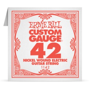 Struna .042 owijana Ernie Ball Nickel Wound Electric (1142)