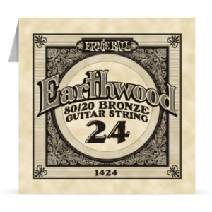 Struna .024 owijana Ernie Ball Earthwood 80/20 Bronze Acoustic (1424)