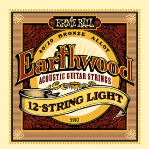 Struny Ernie Ball Earthwood 12-string Light  Acoustic 80/20 Bronze (2010)