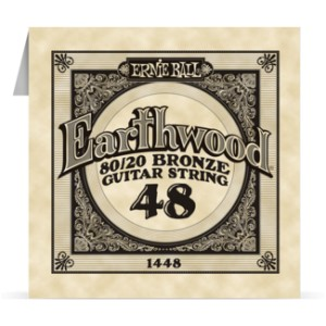 Struna .048 owijana Ernie Ball Earthwood 80/20 Bronze Acoustic (1448)