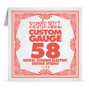 Struna .058 owijana Ernie Ball Nickel Wound Electric (1158)