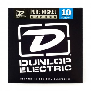 Struny Dunlop Electric Light/Heavy Pure Nickel 10-52