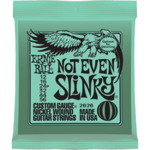 Struny Ernie Ball Not Even Slinky Nickel  Wound 12-56 (2626)