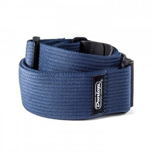 Pasek do gitary Dunlop Ribbed Cotton Navy Blue D27-01NV