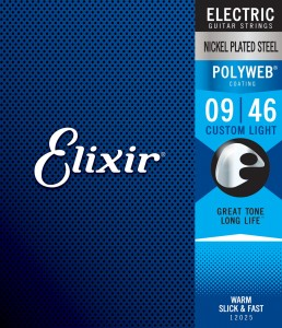 Struny Elixir PolyWeb 9-46 Custom Light (12025)