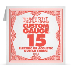 Struna .015 nieowijana Ernie Ball Electric/Acoustic (1015)