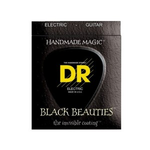 Struny DR Black Beauties Coated 7-string 9-52 (BKE7-9)