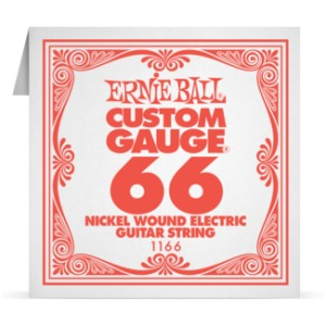 Struna .066 owijana Ernie Ball Nickel Wound Electric (1166)