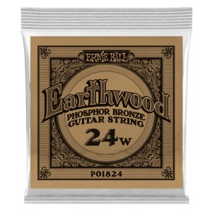 Struna .024 owijana Ernie Ball Earthwood Phosphor Bronze Acoustic (1824)