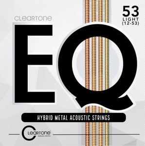 Struny Cleartone EQ Hybrid Metal Acoustic Light 12-53