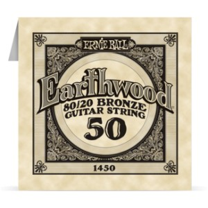 Struna .050 owijana Ernie Ball Earthwood 80/20 Bronze Acoustic (1450)
