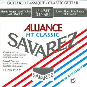 Struny SAVAREZ Alliance HT Classic Normal/Hard Tension 540ARJ
