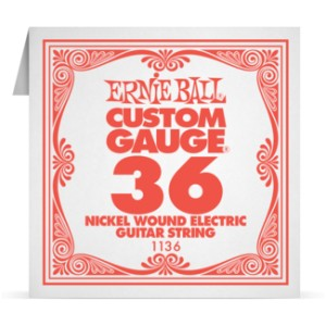 Struna .036 owijana Ernie Ball Nickel Wound Electric (1136)