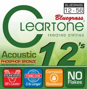 Struny Cleartone Acoustic Phosphor Bronze Bluegrass 12-56