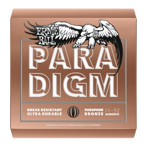 Struny Ernie Ball Paradigm Acoustic Phosphor Bronze 11-52 (2078)