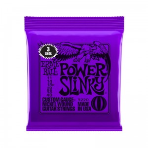 3 x Struny Ernie Ball Power Slinky Nickel Wound 11-48 (3220)
