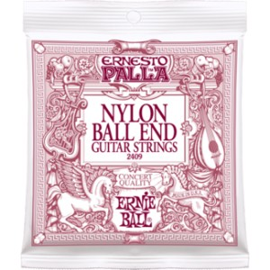 Struny Ernie Ball Ernesto Palla Nylon Ball End Classical Guitar Strings (2409)