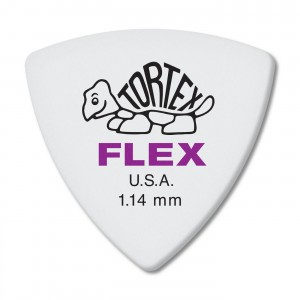 Kostka gitarowa Dunlop Tortex Flex Triangle 1.14mm