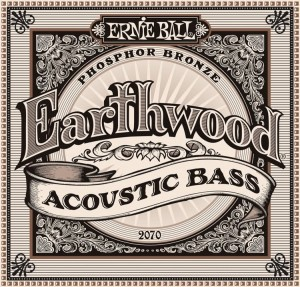 Struny Ernie Ball Earthwood Phosphor Bronze Acoustic Bass (2070)
