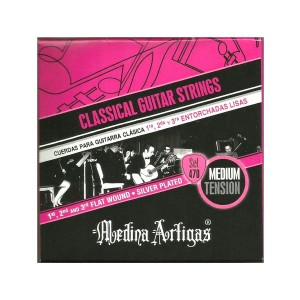 Struny Medina Artigas Classical Guitar Strings Medium Tension 470