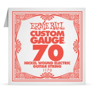 Struna .070 owijana Ernie Ball Nickel Wound Electric (1170)