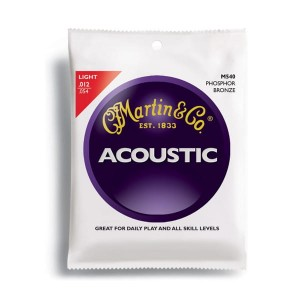 Struny Martin Acoustic Phosphor Bronze Light 12-54 M540