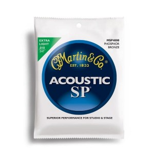 Struny Martin Acoustic SP 92/8 Phosphor Bronze Extra Light 10-47 MSP4000