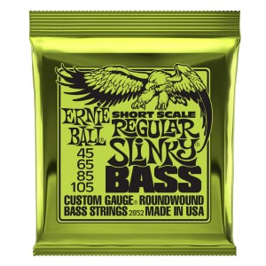 Struny Ernie Ball Short Scale Regular Slinky Bass Nickel Wound 45-105 (2852)