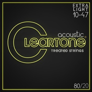 Struny Cleartone Acoustic 80/20 Bronze Medium 10-47
