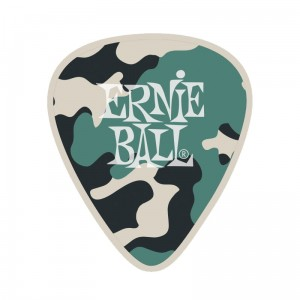 Kostka gitarowa Ernie Ball Medium 0,72mm Camouflage (9222)