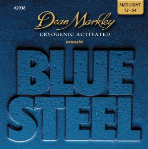 Struny Dean Markley Blue Steel Acoustic 12-54 (DM2036)