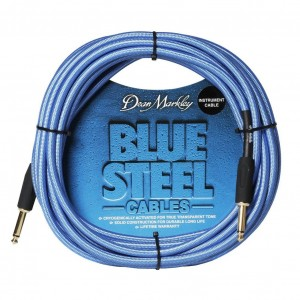 Kabel instrumentalny Dean Markley Blue Steel prosty 6m