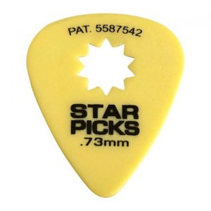 Kostki Cleartone Star Pick .73mm