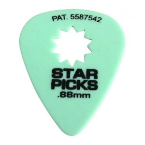 Kostki Cleartone Star Pick .88mm