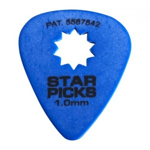 Kostki Cleartone Star Pick 1.00mm