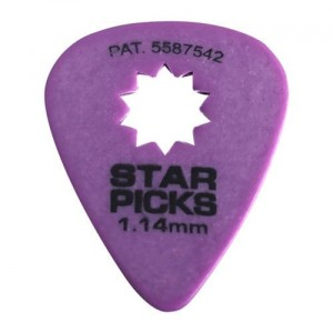 Kostki Cleartone Star Pick 1.14mm